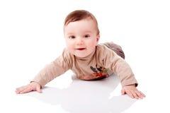 Little Boy sveglio fotografia stock libera da diritti