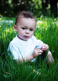 Little Boy sveglio Fotografie Stock