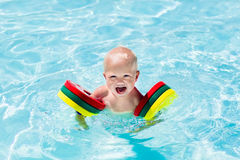 Little boy in swimming suit Royalty Free Stock Image