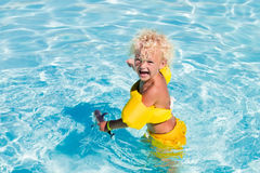 Little boy in swimming suit Royalty Free Stock Photography