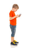 Little boy tablet pc Royalty Free Stock Photography