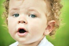 Little boy talking Royalty Free Stock Photos