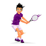 Little boy - tennis player Stock Photography