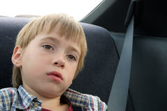 Little boy thinking about life Stock Photos