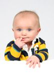 Little Boy tomado o close up Imagem de Stock Royalty Free
