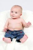 Little Boy tomado o close up imagem de stock royalty free