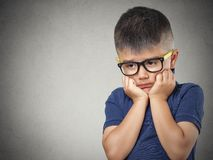 Little Boy triste Image stock