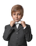 Little boy in a tuxedo Royalty Free Stock Images