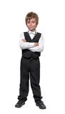 Little boy in a tuxedo Royalty Free Stock Photo