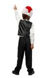 Little boy in a tuxedo Stock Image