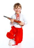 Little boy in Ukrainian national costume Stock Photo