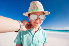 Little boy on vacation Royalty Free Stock Photography