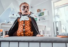 Free Little Boy Vampire On Halloween Party Stock Photos - 162228583