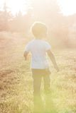 Little boy walking Stock Photography
