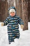 Little boy at walking Stock Photo