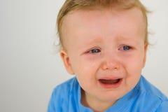 Little Boy Weeping Stock Photos