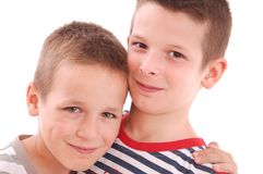 Little boys Royalty Free Stock Photos