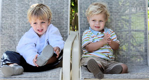 Little Boys Stock Photography