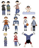 Little Boys Royalty Free Stock Images