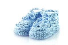 Little boys footwear. Stock Photos