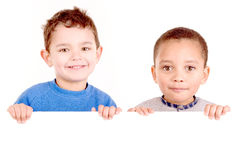 Little boys Royalty Free Stock Photos