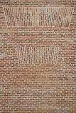 Little bricks wall, with different patterns royalty free stock photography