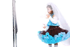 Little bride Royalty Free Stock Images