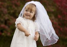 Little Bride Royalty Free Stock Photo