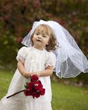 Little Bride Stock Photography