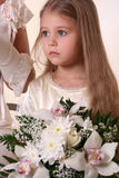 Little Bridesmaid Royalty Free Stock Photography