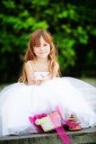 Little bridesmaid Stock Photo