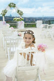 Little  bridesmaid Royalty Free Stock Photos