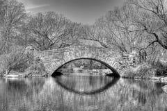 Little Bridge. Bridge in New York's Central Park Stock Photography