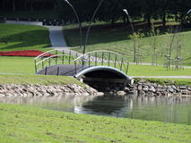 Little bridge Royalty Free Stock Images