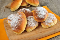 Little brioches Stock Images