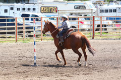 Little Britches Rodeo Royalty Free Stock Image
