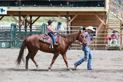 Little Britches Rodeo Stock Image