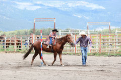 Little Britches Rodeo Stock Images