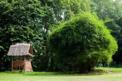 Little broken hut Stock Images