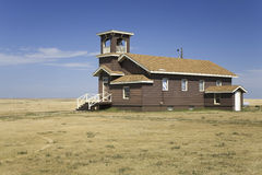 Little Brown Church royalty free stock images