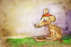 Little brown mouse Stock Photo
