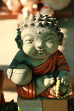 Little buddha. The Little buddha make from sandstone royalty free stock images