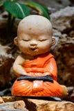 Little Buddha Sculpture Stock Photography