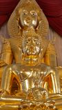 Little of Buddha Statue behind The Bigger Buddha Royalty Free Stock Photo