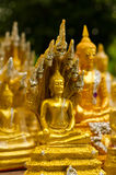 Little Buddhas. Little Buddha's image selling in the temple of Thailand for people to worship at home Stock Images