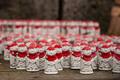 Little buddhas in Yamadera Stock Photos