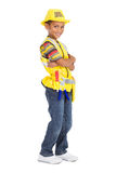 Little builder royalty free stock image
