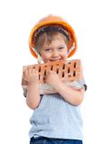 Little builder Royalty Free Stock Photos