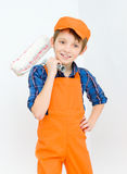Little builder Royalty Free Stock Photography