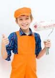 Little builder Stock Image